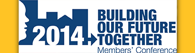2014 Building Our Future Together - Members' Conference logo