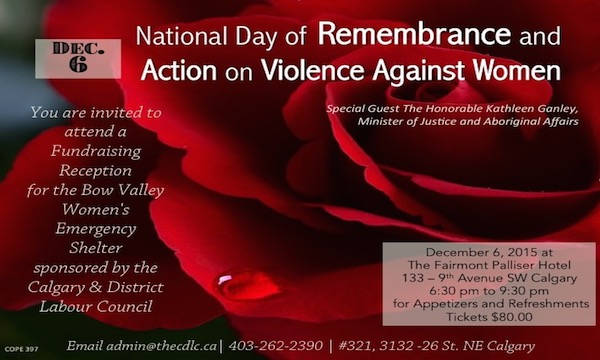National Day of Remembrance Violence Against Women