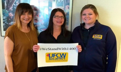 Solidarity with UFCW Local 1400 Best Western Seven Oaks #westandwith1400