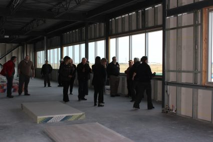Tour of New Calgary HQ, April 2016