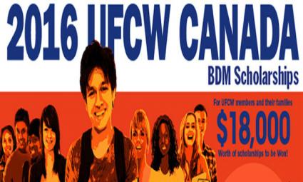 UFCW Canada BDM Scholarship