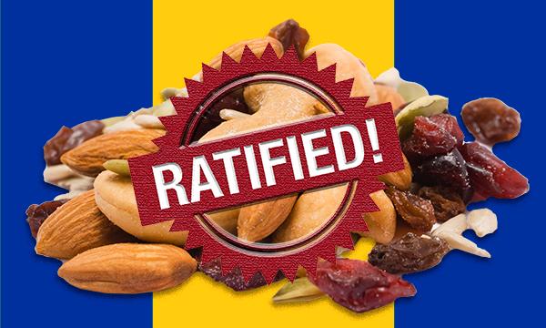 Trophy Foods Ratified