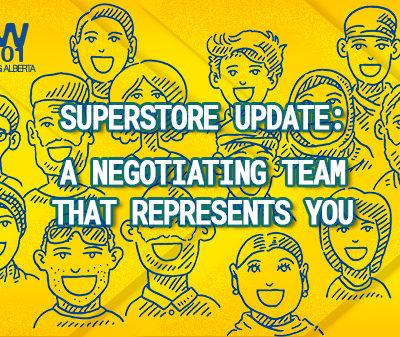 Superstore Bargaining update diverse members