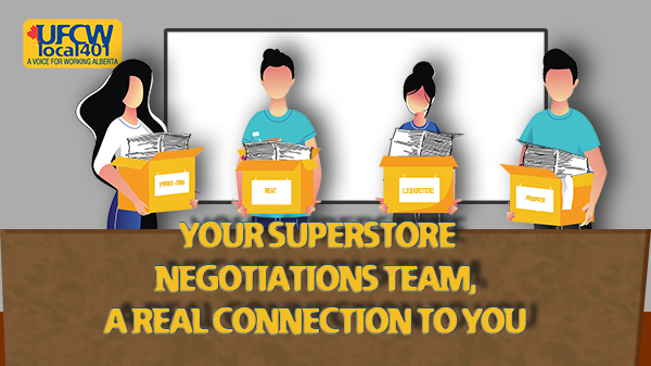 Superstore Members Negotiating Team Ready to Negotiate
