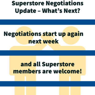Superstore negotiations update - what's next?