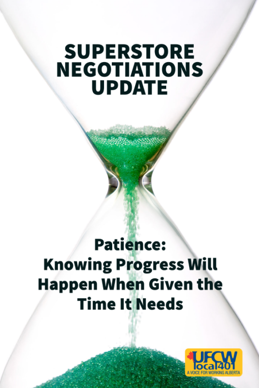 Patience: Knowing Progress Will Happen When Given the Time It Needs