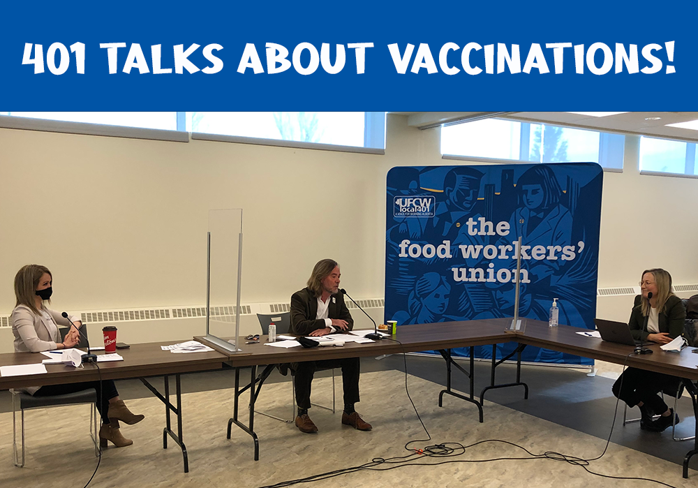 401 talks about vaccinations