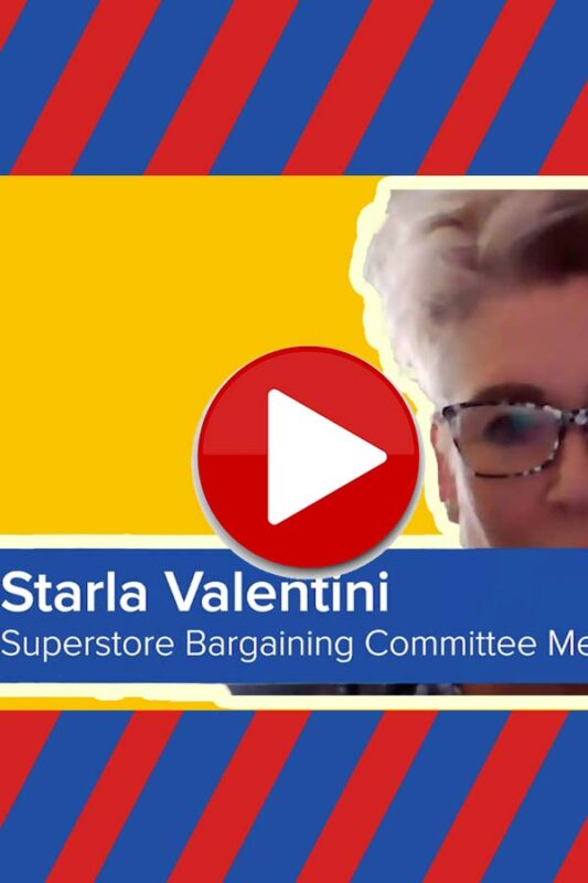 Starla from Bargaining Committee