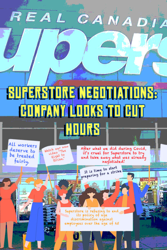 Image Illustration Superstore Looking to Cut Hours